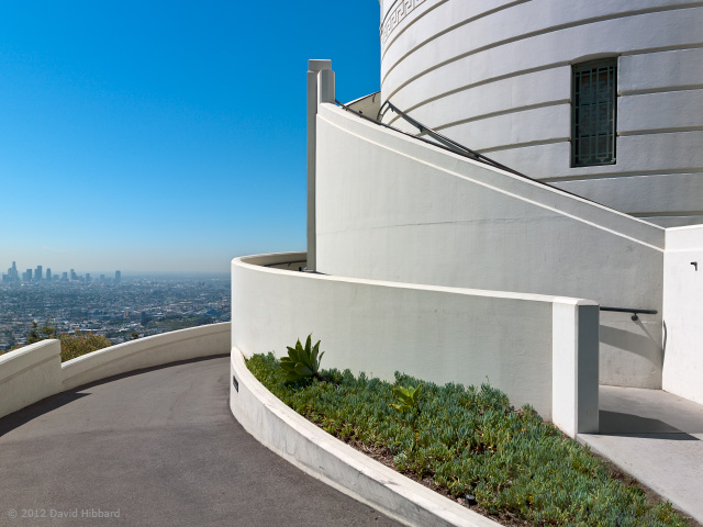 Griffith Observatory 2 - © 2012 David Hibbard